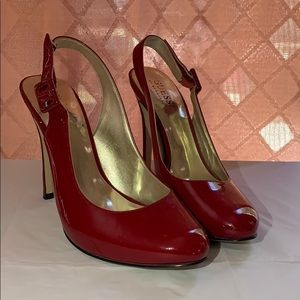 Guess (by Marciano) Red sling back high heels